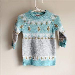 Cat & Jack Infant Girl's Fair Isle Sweater Tunic